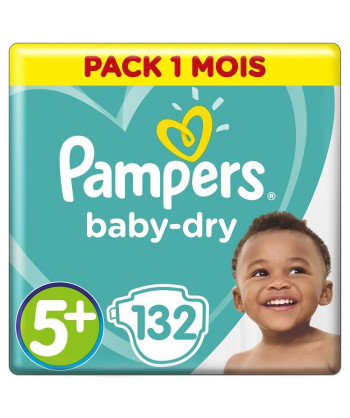 PAMPERS Baby Dry Taille 5...
