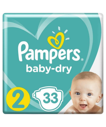 Pampers BabyDry Taille 2 ,...