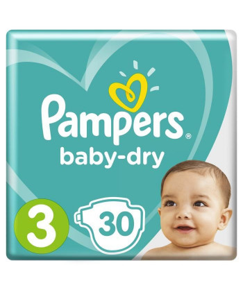 Pampers BabyDry Taille 3,...