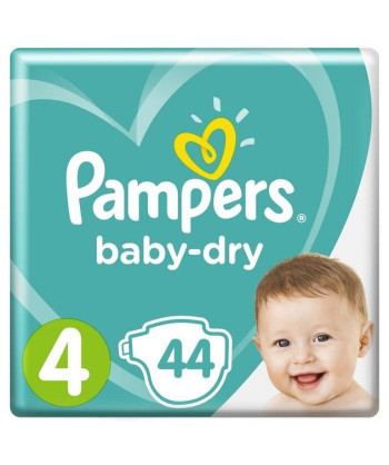 PAMPERS Baby Dry Taille 4...