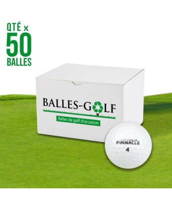 PINNACLE Lot de 50 Balles...