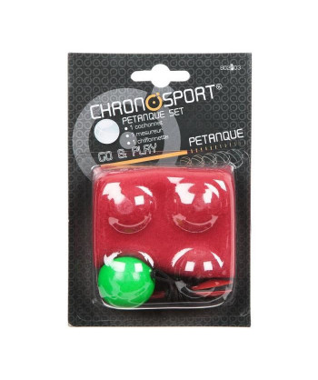 CHRONOSPORT Kit de Petanque...