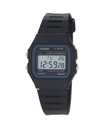 CASIO Montre Quartz F91W1YER