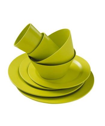 TRIGANO Vaisselle Bambou  Vert