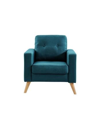 IBRA Fauteuil  Tissu bleu...