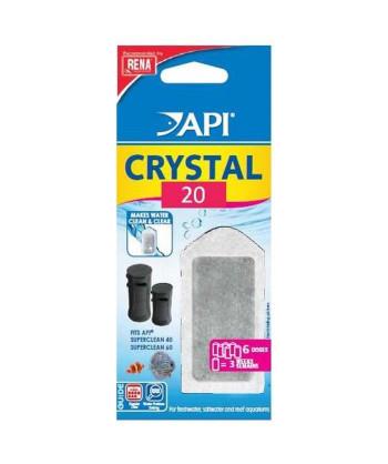 API Filtre Crystal 20 (x6)...