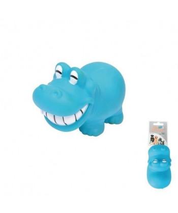 Jouet hippopotame bleu en...