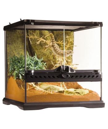 Terrarium en verre 30x30x30 cm