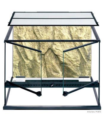 Terrarium en verre 60x45x45 cm